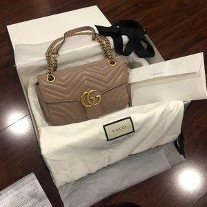 Guccci Marmont Matelasse Small Bag